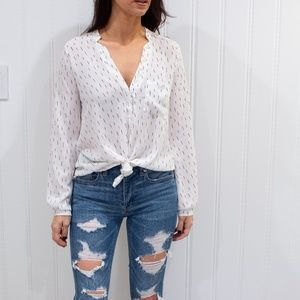 Speckled Blouse from Nordstrom